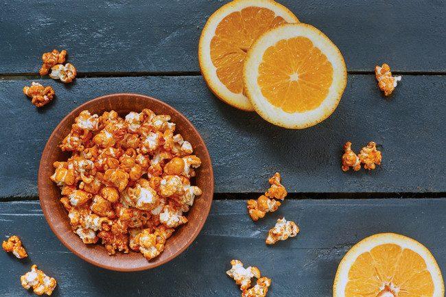 Попкорн с апельсином